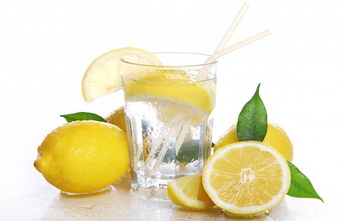does lemon water break a fast