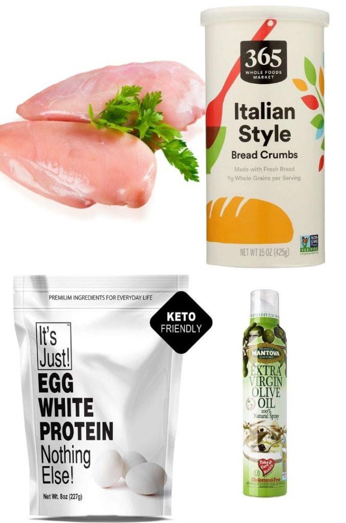 Chicken Cutlets Ingredients